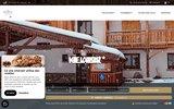 screenshot http://www.lapendine.com hotel restaurant la pendine