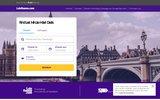 screenshot http://www.laterooms.com/fr/ LateRooms.com - réservation d'hôtels en ligne à -70%