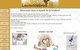 screenshot http://www.laurencebrod.fr laurencebrod