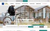 screenshot http://www.lavelodyssee.com Eurovélo 1, La véloroute en Atlantique