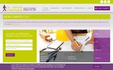 screenshot http://www.le-cercle-interimaire.fr le cercle intérimaire emploi cadre ile de france