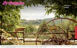 screenshot http://www.lebougalou.com/ restaurant gite equestre et d'etape le bougalou - saint auban sur ouvèze