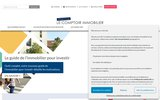 screenshot http://www.lecomptoirimmobilier.fr le comptoir immobilier - conseil en immobilier de placement