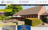 screenshot http://www.legayant-hotel.fr/ Hôtel le Gayant