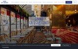 screenshot http://www.legrandcafe.com le grand café capucines