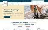screenshot http://www.lepetitberet.com Le Petit Béret
