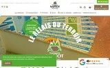 screenshot http://www.lerelaisduterroir.fr relais du terroir