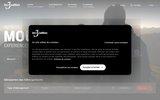 screenshot http://www.les3vallees.com/ les 3 vallées : le plus grand domaine skiable du monde.