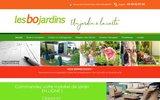 screenshot http://www.lesbojardins.com les bo jardins