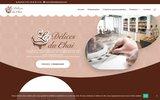 screenshot http://www.lesdelicesduchai.fr/ Les délices du Chai