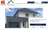 screenshot http://www.lesdemeuresdeprovince.fr les demeures de province - constructeur de maisons