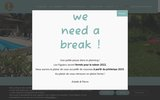 screenshot http://www.lesfiguiers.fr location de vacances avec piscine en ardèche
