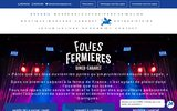 screenshot http://www.lesfoliesfermieres.fr Les Folies Fermières