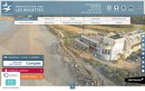 screenshot http://www.lesmouettes.com hotel lorient larmor plage