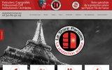 screenshot http://www.lestoreparisien.fr le store parisien : stores à paris et idf
