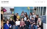 screenshot http://www.leterrier.info le terrier d'hégésippe