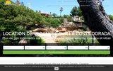 screenshot http://www.litoralcostadorada.fr vacances