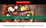 screenshot http://www.livraison-pizza-rennes.fr pizza rennes