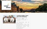 screenshot http://www.locadoca.com appartements et logements à louer à montréal