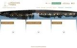 screenshot http://www.location-de-peniche.fr soirées-réceptions-séminaires- en péniche à paris