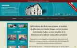 screenshot http://www.locationvosges.com location gite et chalet vosges