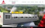 screenshot http://www.locli.fr locli : construction de bâtiments modulaires bungalows, bulles de vente, préfabriqués...