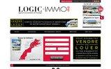 screenshot http://www.logic-immo.ma logic immo.ma - annonces immobilieres au maroc