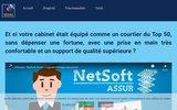 screenshot http://www.logiciel-assurances.com logiciel crm pour cabinet d'assurances