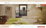 screenshot http://www.logis-astree.fr le logis de l'astrée - gîtes et chambres d'hôtes
