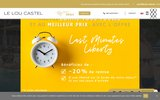 screenshot http://www.loucastel.com Loucastel est un camping familial 4 étoiles proche de Sarlat la Canéda