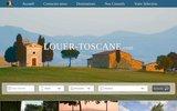 screenshot http://www.louer-toscane.com louer en toscane