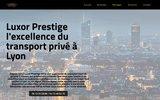 screenshot http://www.luxor-prestige.fr/ Luxor Prestige Location Voiture de Lxue Mercedes Lyon Rhône Alpes