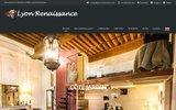 screenshot http://www.lyon-renaissance.com gites lyon renaissance