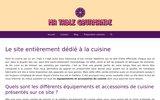 screenshot http://www.ma-table-gourmande.com ma table gourmande : art de la table, articles cuisine, vaisselle, oenologie