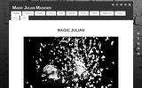 screenshot http://www.magicjulianmagicien.fr magicien