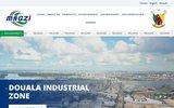 screenshot http://www.magzicameroun.com mission d aménagement et de gestion des zones industrielles - cameroun