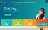 screenshot http://www.maigrir2000.com maigrir 2000 : conseil en nutrition et diététique