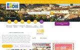 screenshot http://www.mairie-die.fr georges berginiat, maire de die