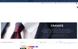 screenshot http://www.maisondelacravate.fr cravatte