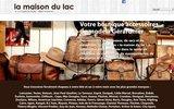 screenshot http://www.maisondulac.fr chapeau la maison du lac