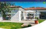 screenshot http://www.maisonsdenfrancemediterranee.com/ Maisons d'en France Méditerranée