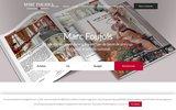 screenshot http://www.marcfoujols.com Immobilier Marc Foujols