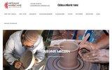 screenshot http://www.maroc-artisanat.com le souk de la gazelle artisanat marocain