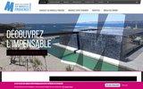 screenshot http://www.marseille-congres.com Bureau des congrès et des événements de Marseille