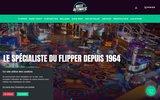 screenshot http://www.massautomatic.fr vente de jeux automatiques