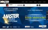 screenshot http://www.masterfm.fr web radio locale master