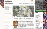 screenshot http://www.matajava.com matajava créations originales artisanat indonésien