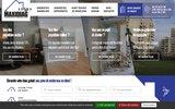 screenshot http://www.maxidiag.fr expertises et diagnostics immobiliers