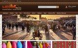 screenshot http://www.medinmaroc.com/ medinmaroc décoration orientale, artisanat marocain