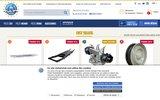 screenshot http://www.mehariclub.com/ vente des pièces détachées citroën : mehari club